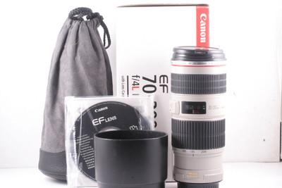 98/佳能 EF 70-200mm f/4L IS USM (全套包装) 编号:UX