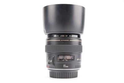 97新二手Canon佳能 85/1.8 定焦镜头回收置换 484448津
