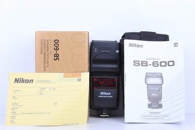 95新二手Nikon尼康 SB-600 机顶闪光灯回收置换 436245京