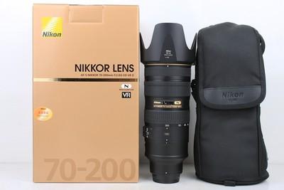97新二手Nikon尼康 70-200/2.8 G VR II 大竹炮置换 079482京