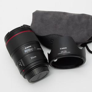 Canon佳能EF 35mm f/1.4L II USM 35/1.4二代 广角镜头 98新#1152