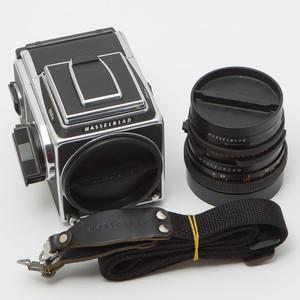 哈苏503CW配A12新款后背套CF80/2.8中画幅胶卷相机 整体95新#0122