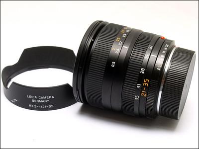 徕卡 Leica R 21-35/3.5-4 ASPH ROM 带皮套 光罩