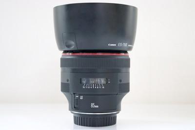 95新二手 Canon佳能 85/1.2 L II EF 二代 大眼睛 317552成