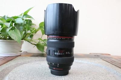 92新二手Canon佳能 24-70/2.8 L USM一代红圈镜头 174537武