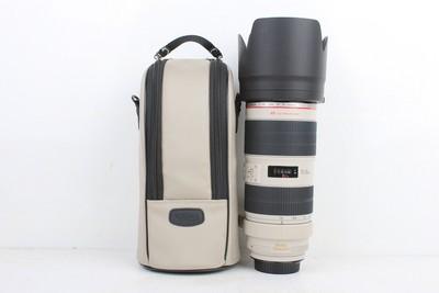 95新二手Canon佳能 70-200/2.8 L IS II USM小白兔 0002965京