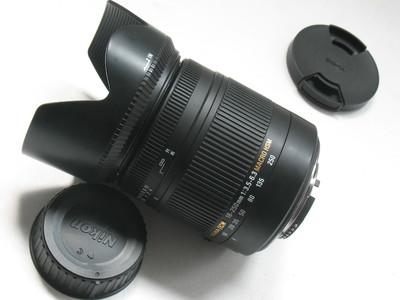 成色极好适马18-250 F3.5-6.3 MACRO OS HSM二代新涂层微距尼康口
