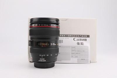 95新二手Canon佳能 24-105/4 L IS USM 防抖镜头 931075津