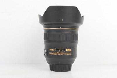 96新二手 Nikon尼康 24/1.4 G ED 广角定焦镜头 214653京