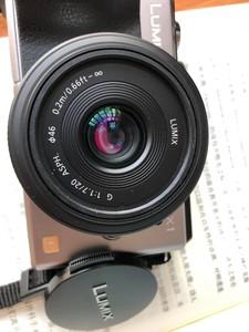 松下 Lumix G 20mm f1.7 II ASPH