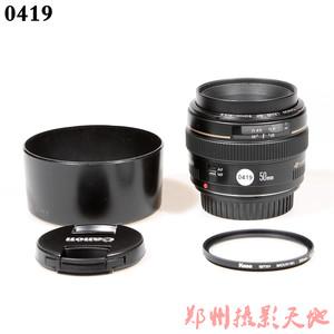 佳能 EF 50mm f/1.4 USM 单反镜头 0419