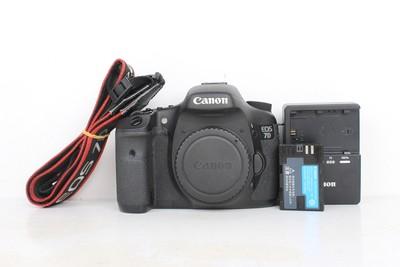 95新二手 Canon佳能 7D 单机 中端单反相机 516425京