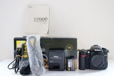 95新二手Nikon尼康 D7000 单机快门12000次 251589成