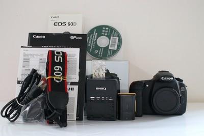 95新二手Canon佳能 60D 单机 中端单反相机 236850成