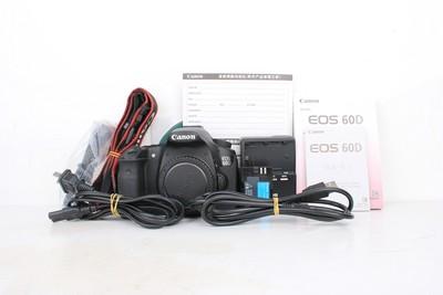 96新二手Canon佳能 60D 单机 中端单反相机 011453京