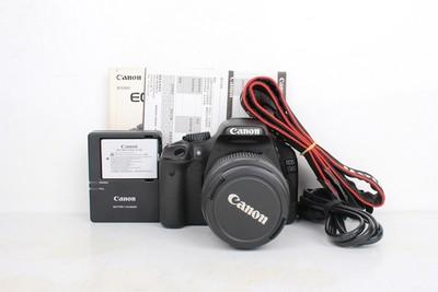 95新二手Canon佳能 550D套18-55 入门单反相机 715292 001161京