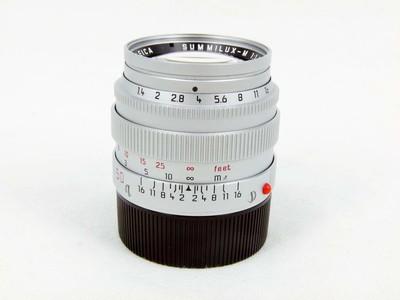 华瑞摄影器材-徕卡Leica Summilux-M 50/1.4 E43银色