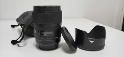 出闲置适马 35mm f/1.4 DG HSM Art 佳能口