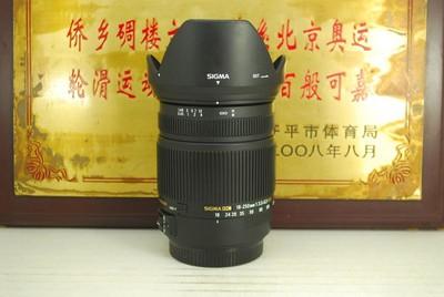 97新 佳口 适马 18-250 F3.5-6.3 OS HSM 72mm 单反镜头