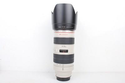 92新二手Canon佳能 70-200/2.8 L 小白变焦镜头回收 082123京