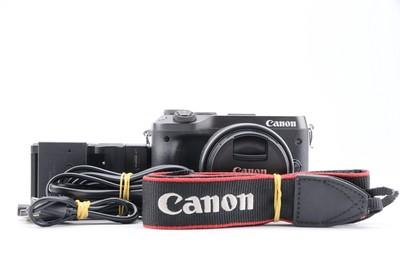 90新二手Canon佳能M6套(15-45)套机微单相机004485 027469京