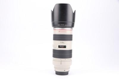 93新二手Canon佳能 70-200/2.8 L 小白变焦镜头回收 299449武