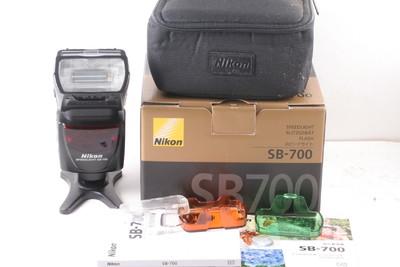 95/尼康 NIKON SB-700 闪光灯 成色极新 ( 全套包装)