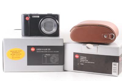 98/徕卡 V-LUX 20 数码相机 帶皮套 极新净(全套包装)