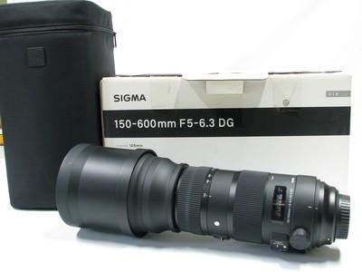 适马 150-600mm f/5-6.3 DG OS HSM Sports佳能口原包装齐全98新