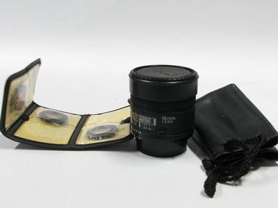 尼康 AF Fisheye 16mm f/2.8D 99新