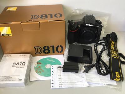 尼康 D810 带包装的尼康全画幅单反相机 底价出售