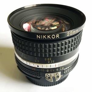 Nikkor 20mm f2.8 广角定焦镜头