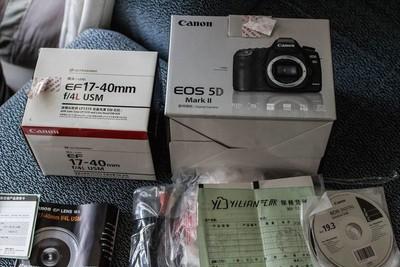 转让自用佳能5D2相机佳能17-40适马35-1.4镜头佳能口
