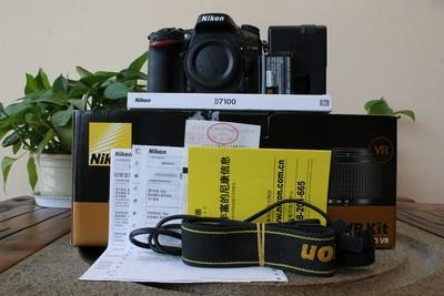 95新二手 Nikon尼康 D7100 单机 快门21652次 回收603563武