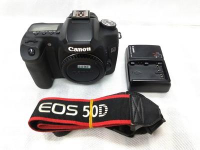 Canon/佳能 50D 单机 中端单反相机 入门初学者便携旅游