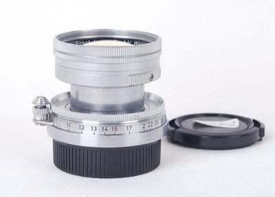 【放射性元素玻璃】徕卡Summicron L 50/2 109万号jp20402