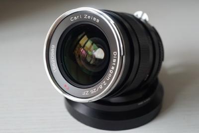 卡尔·蔡司 Distagon T* 25mm f/2.8 ZF 一代