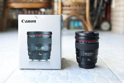 佳能 EF 24mm f/1.4L II USM 99新无瑕疵箱说全