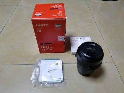 索尼 Distagon T* FE 35mm f/1.4 ZA(SEL35F14Z)