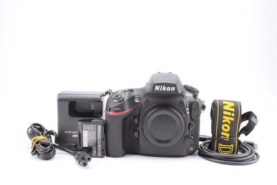 95新二手Nikon尼康 D800E 单机 快门23456次 回收001093津