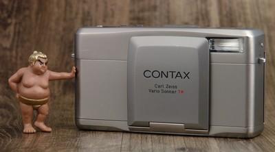 Contax 康泰时 TVS III TVS 3 高档 便携 变焦 胶片机