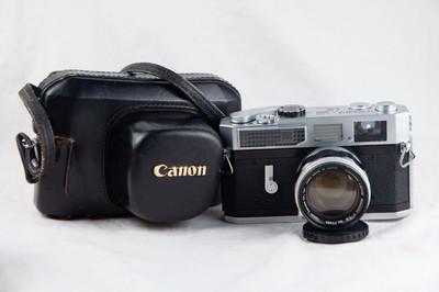 佳能 Canon 7 LTM 50 1.4 套机 近新好成色