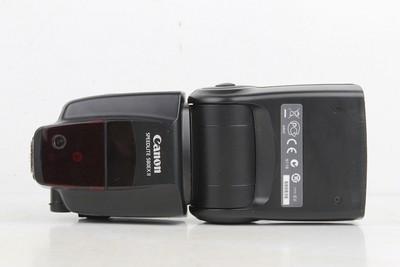 94新二手Canon佳能 580EX II 闪光灯 适用于5D25D3 回收680836京