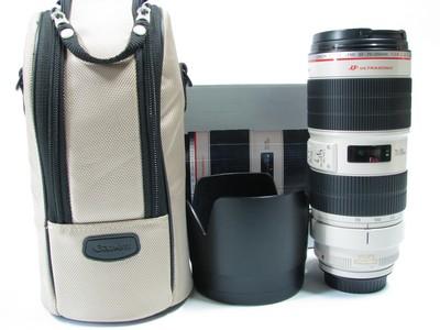佳能 EF 70-200mm f/2.8L IS II USM镜头95新小白兔带包