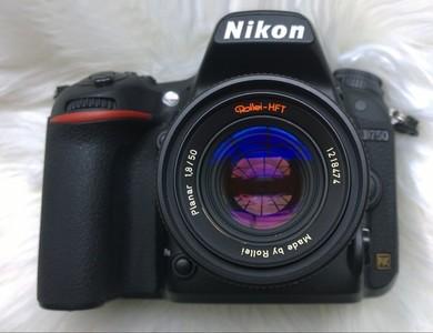 尼康D750全画幅单反相机,蔡司50 1.4