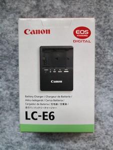 原装佳能单反用LC-E6锂电池充电器