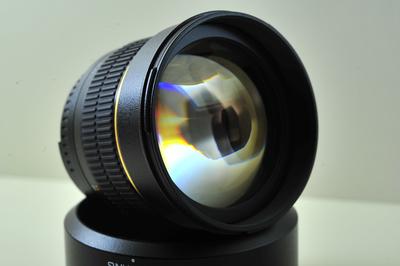 全新三阳85mm/F1.4镜头尼康口