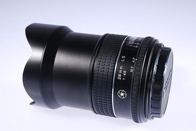 飞思 施耐德28/4.5 SL 镜间快门镜头 包装齐全