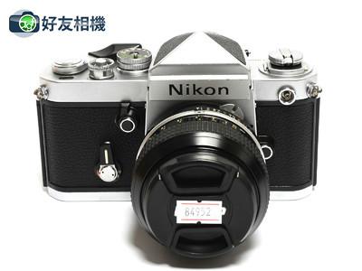 尼康/Nikon F2相机带DE-1尖頂 连50mm F/1.4镜头