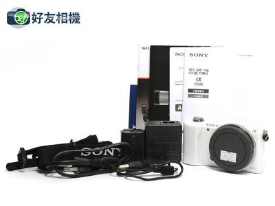 索尼 Alpha ILCE-5000  A5000 迷你旅游入门级数码相机 *如新*
